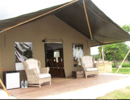 Peartrees Glamping Porch